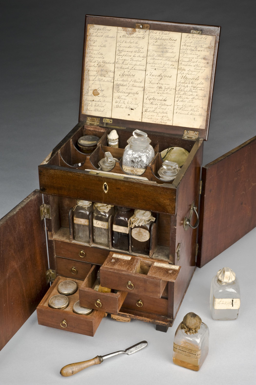 Викторианская домашняя аптечка.