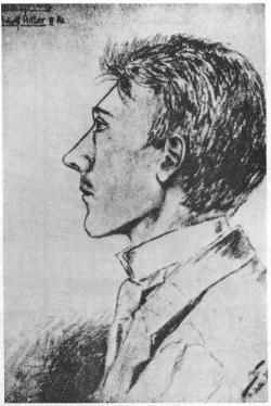 Фото 4. Портрет 16-летнего А. Гитлера, нарисованный А. Кубичеком.jpg