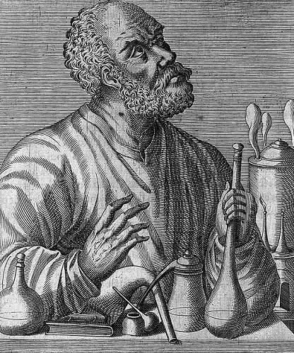 Джабир ибн Хайян на европейской гравюре.