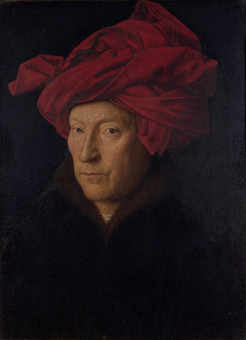 Портрет, считавшийся ранее автопортретом ван Эйка. <br>