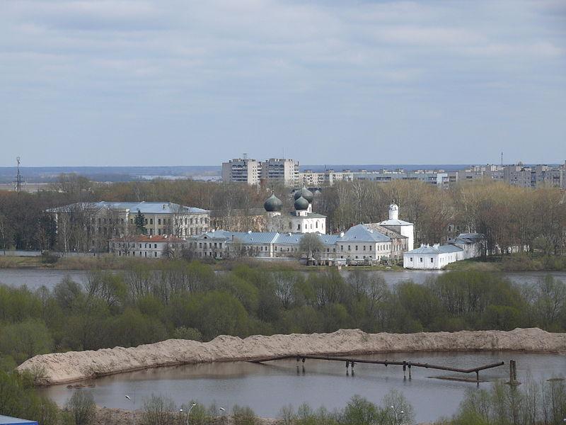 Современный вид Антониева монастыря.