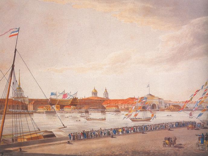 Вид на Адмиралтейство.