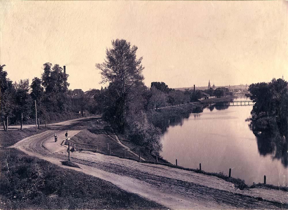 В районе Карповского сада, 1905 год.