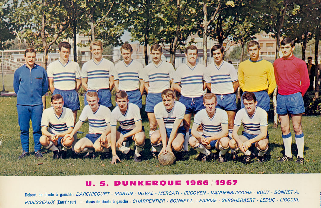 Клуб «Дюнкерк» в 1960-е.