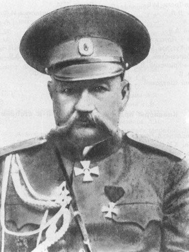 Командующий Северо-Западной армии генерал Н. Н. Юденич.