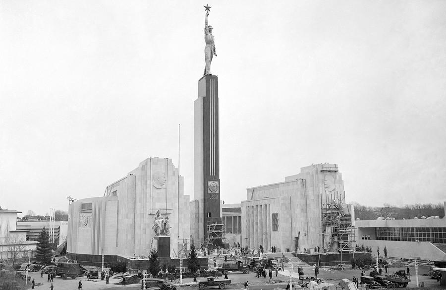 Советский павильон в Нью-Йорке, 1939г.