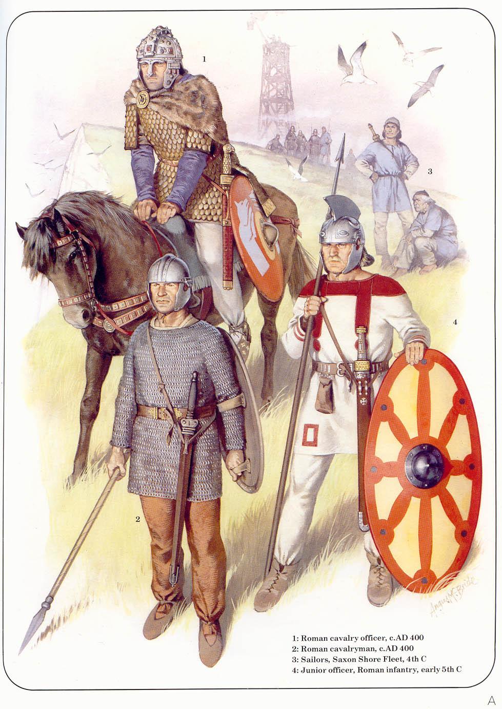 Армия позднего Рима.