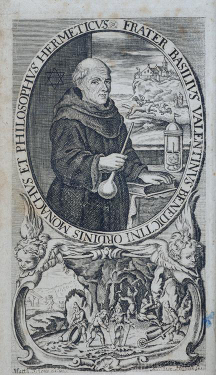 Василий Валентин, 1717 г.