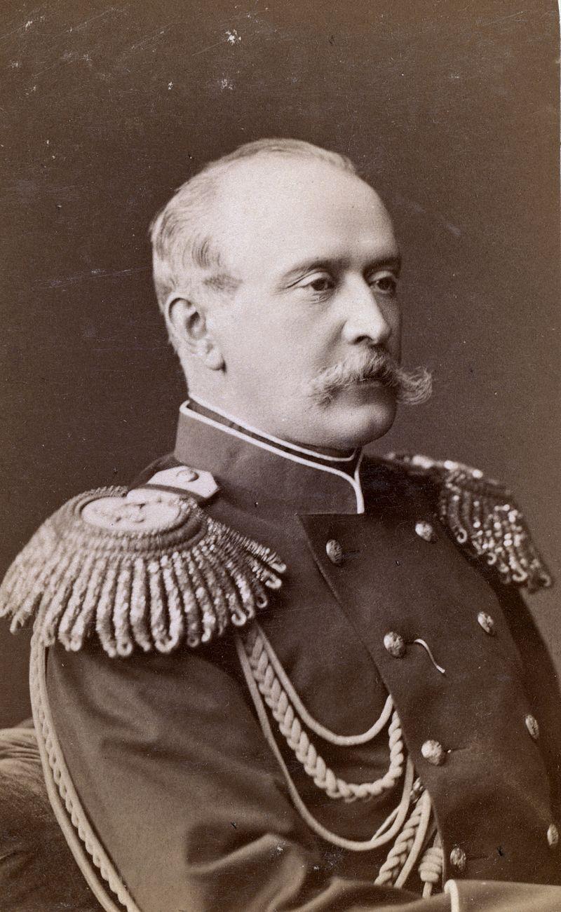 П. А.Шувалов, 1880-е гг.