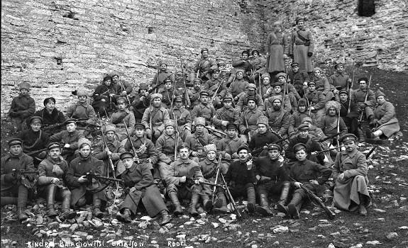 Белые в Псковской губернии, осень 1919. <br>