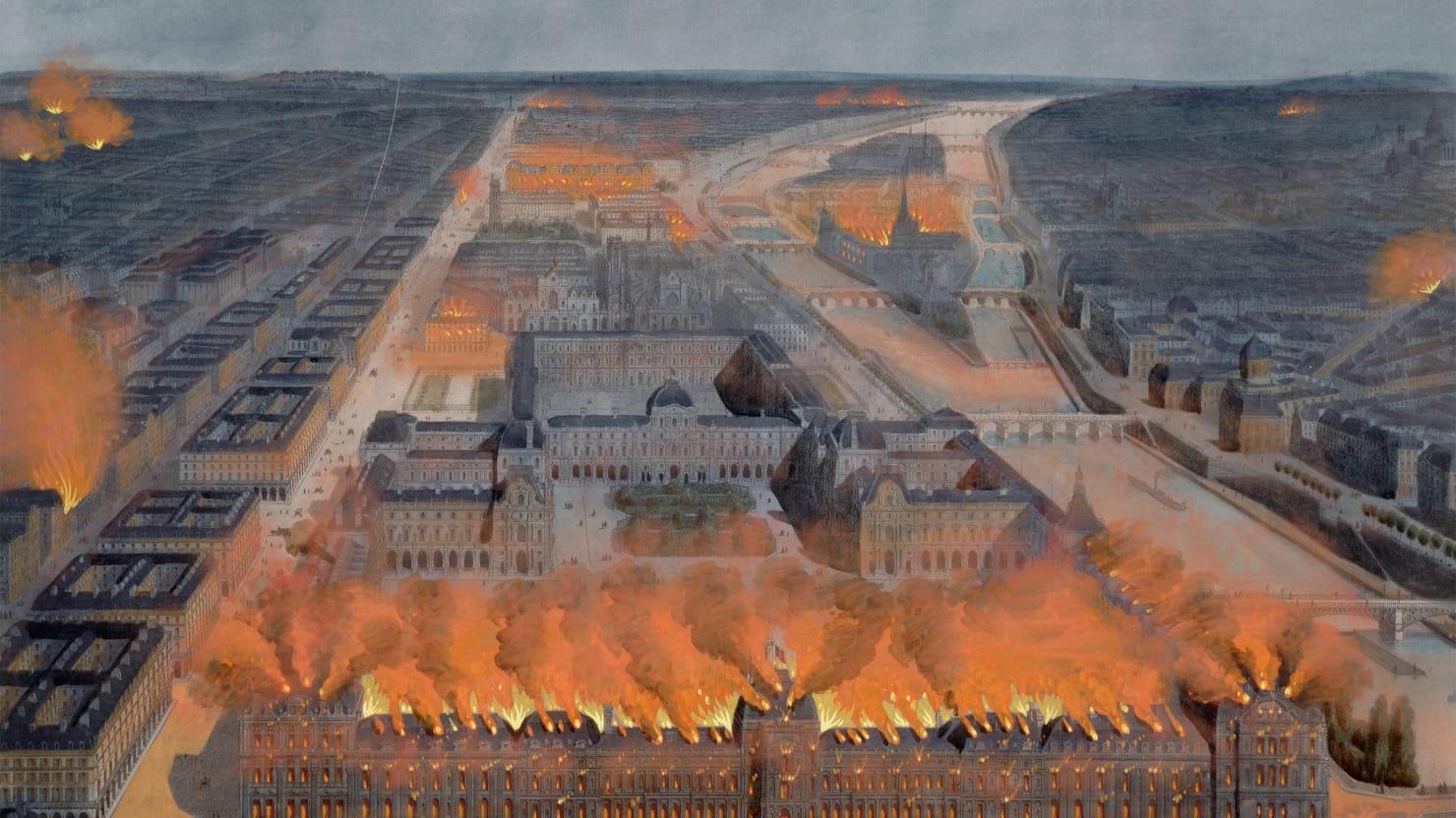 5 Пожар Парижа в мае 1871 года.jpg