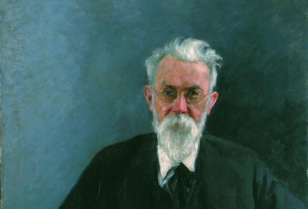 В. И. Вернадский. Его сын Георгий эмигрировал в 1920&nbsp;г., стал затем известным историком в&nbsp;США. <br>