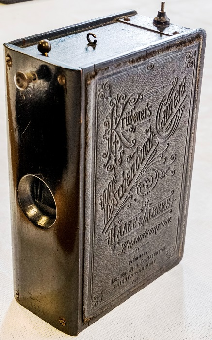 Камера Рудольфа Крюгенера, Германия, 1888.