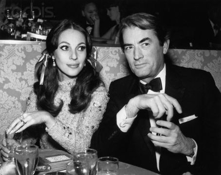 13 Gregory Peck & wife Veronique.jpg