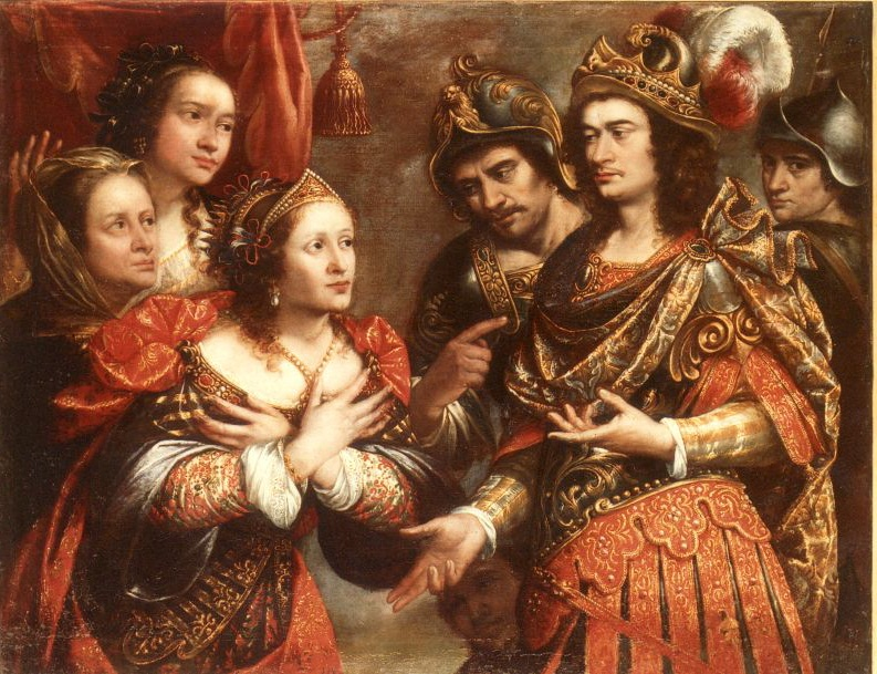 Юстус Сустерманс. Семья Дария перед Александром.