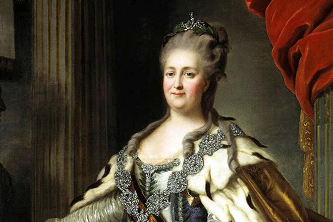 Екатерина Вторая. <br>