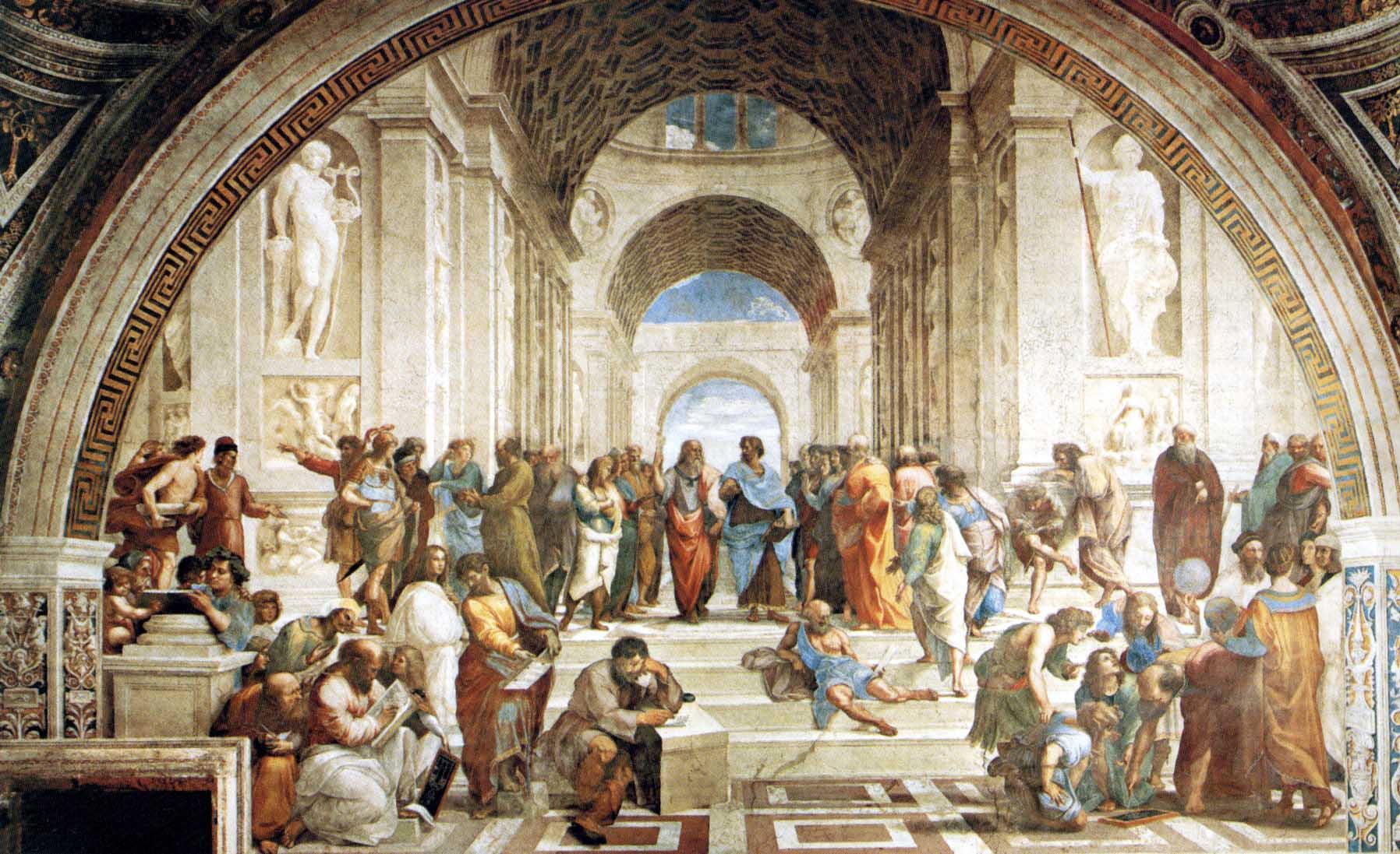 Афинская школа, Рафаэль, 1511.jpg