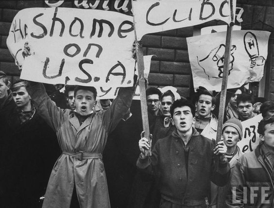 an analysis of the america cuba and the soviet union in the sixties The cuban missile crisis he also presented the scheme as a means of protecting cuba from another united states the soviet union began building secret.