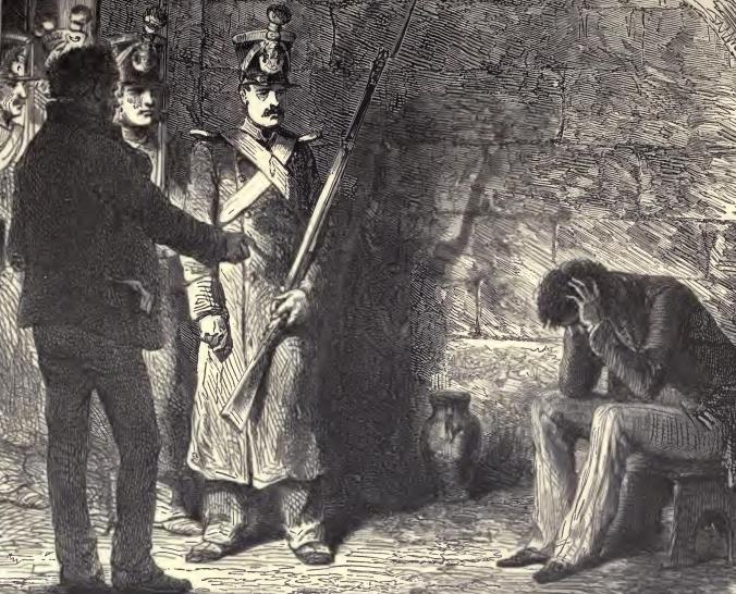 Иллюстрация к роману «Граф Монте-Кристо».