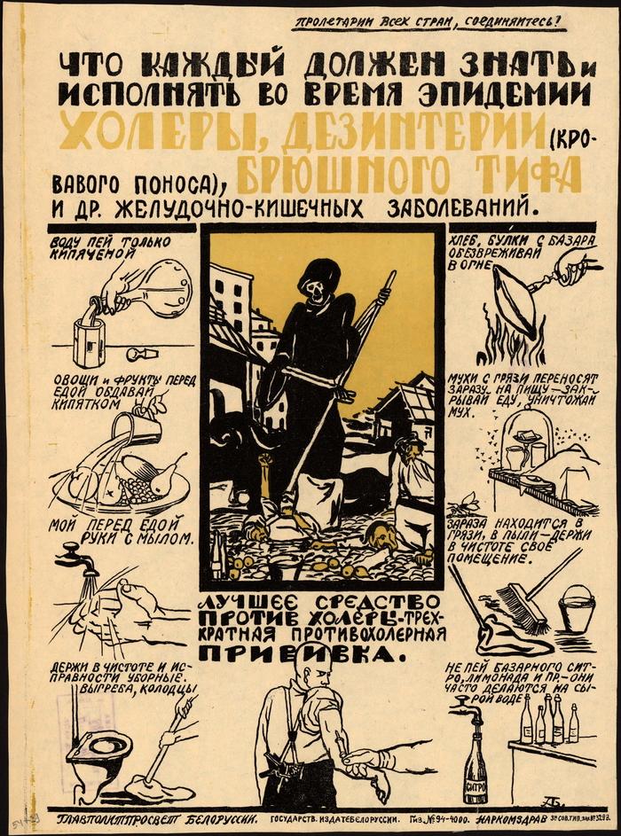 Плакат 1920-х.