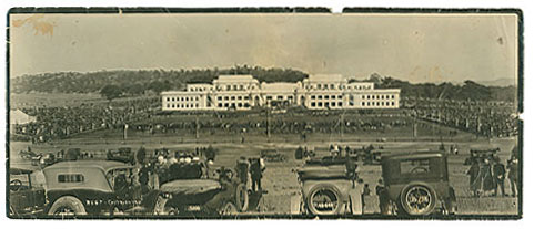 The opening of Parliament House in May 1927..jpg