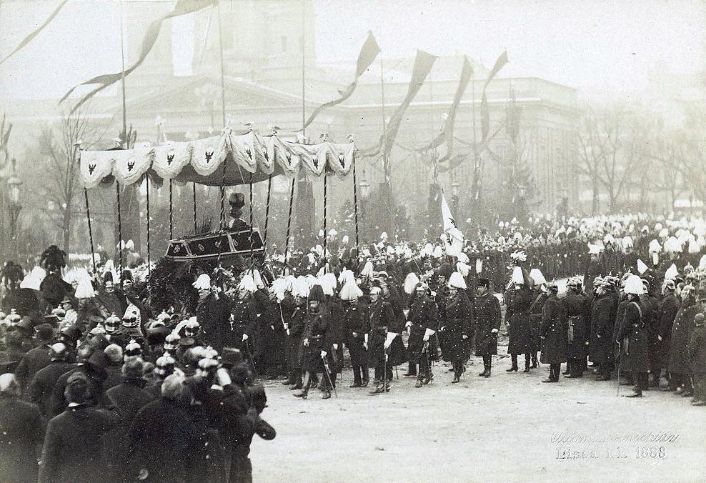 Похороны Вильгельма I.