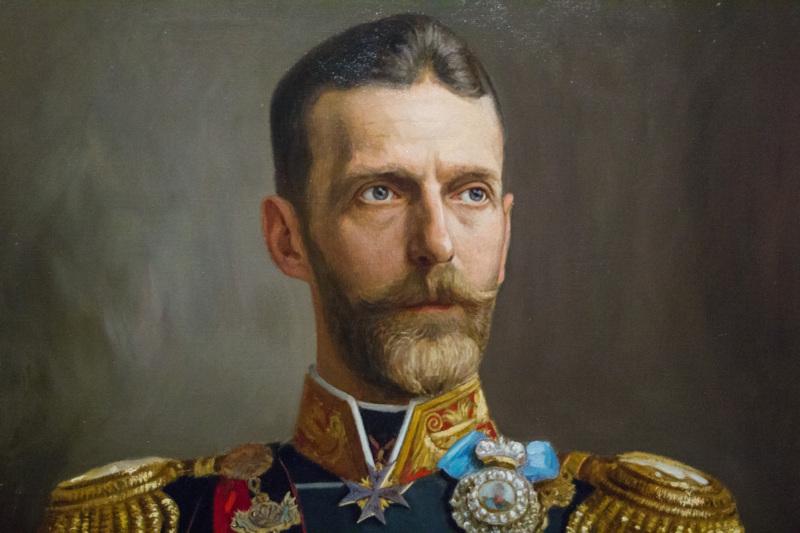 Портрет великого князя кисти В. К. Штемберга. <br>