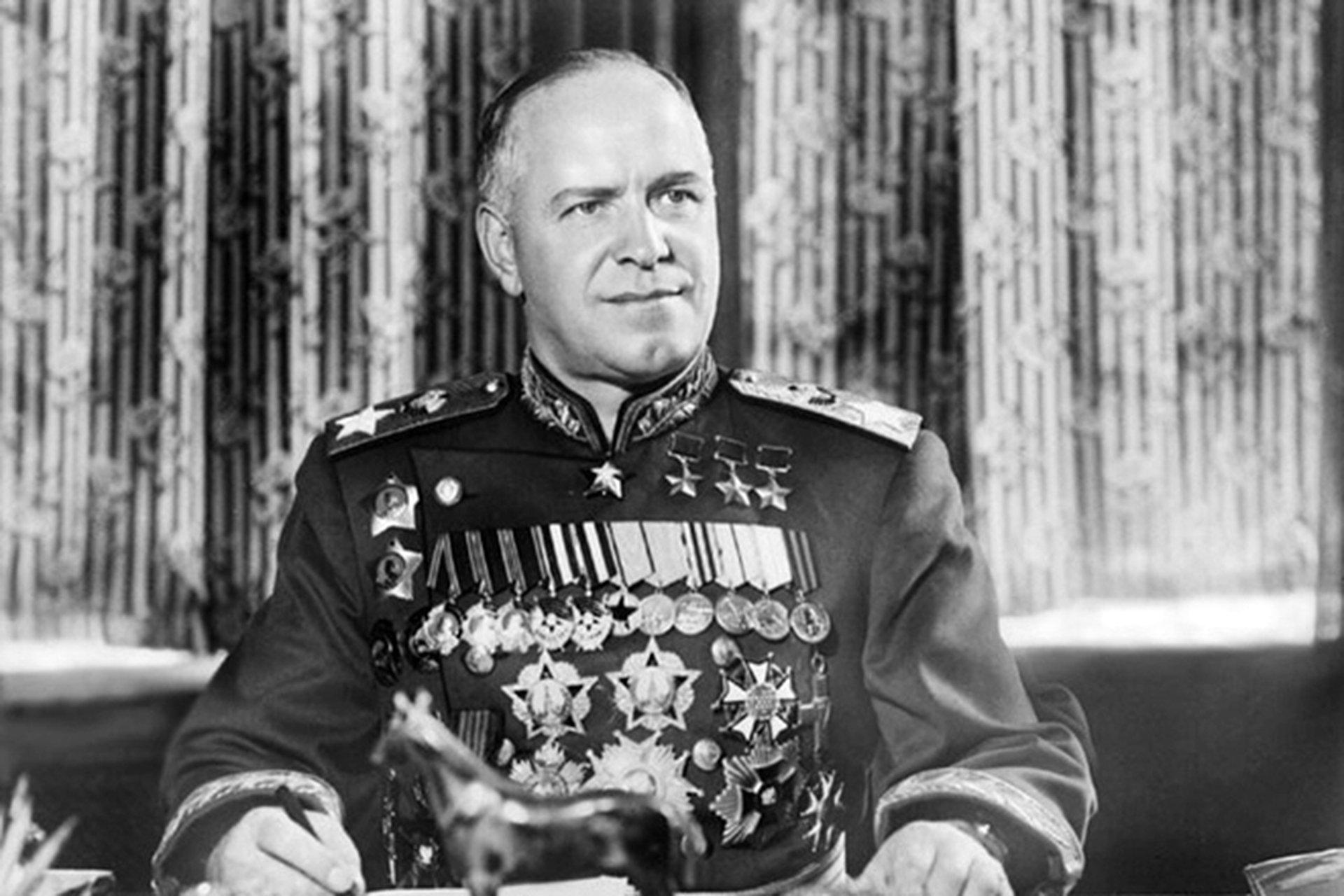 Георгий Жуков после войны. Источник: Pinterest
