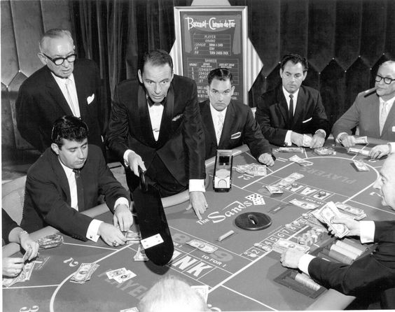 18 Frank Sinatra dealing baccarat in the Sands Casino Las Vegas.jpg