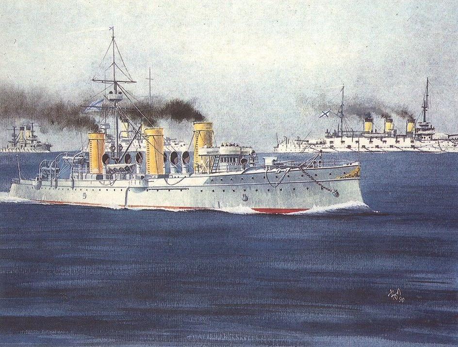 Крейсер 2-го ранга «Новик».