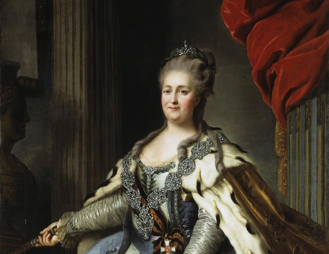 Екатерина II. Источник: Wikimedia Commons