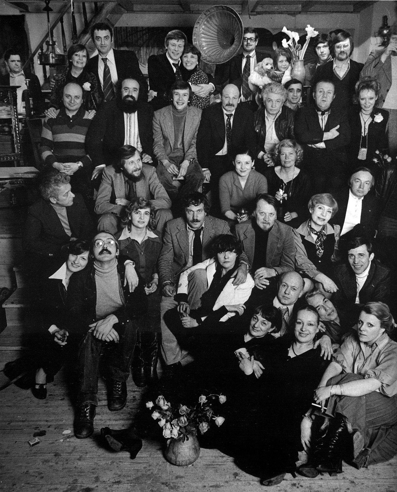 Авторы «Метрополя», 1979 год