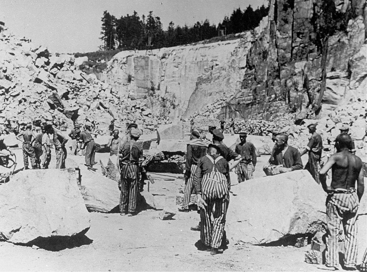 Каменоломня Маутхаузена.