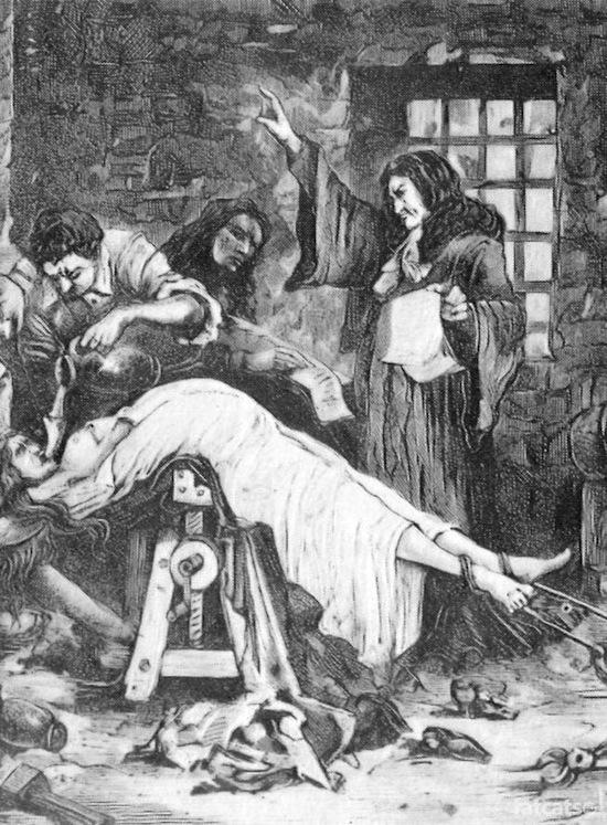 Секс пытки девушек инквизицией