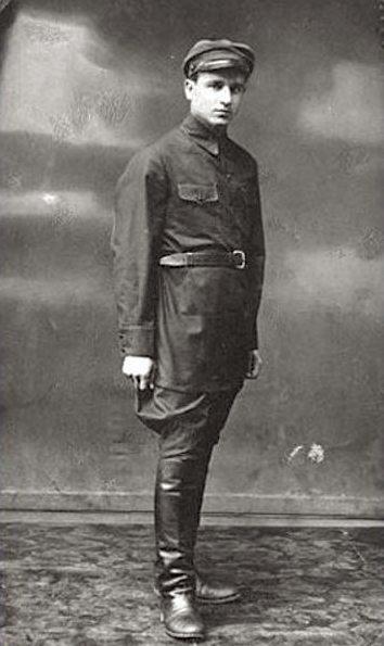 Николай Киселев во время войны.
