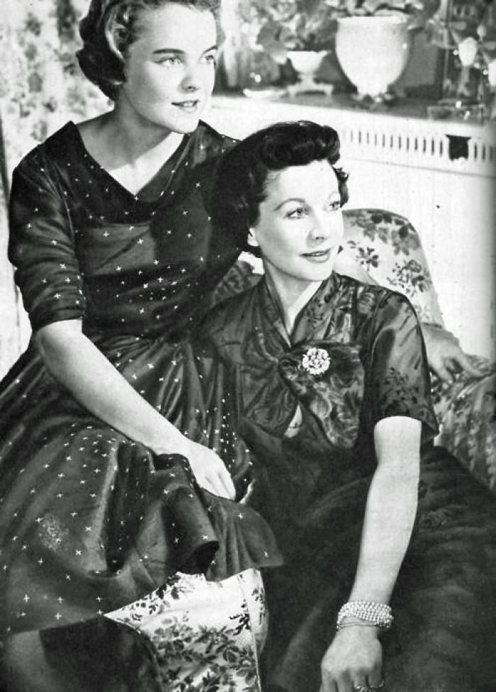 Вивьен и еедочь Сюзанна.