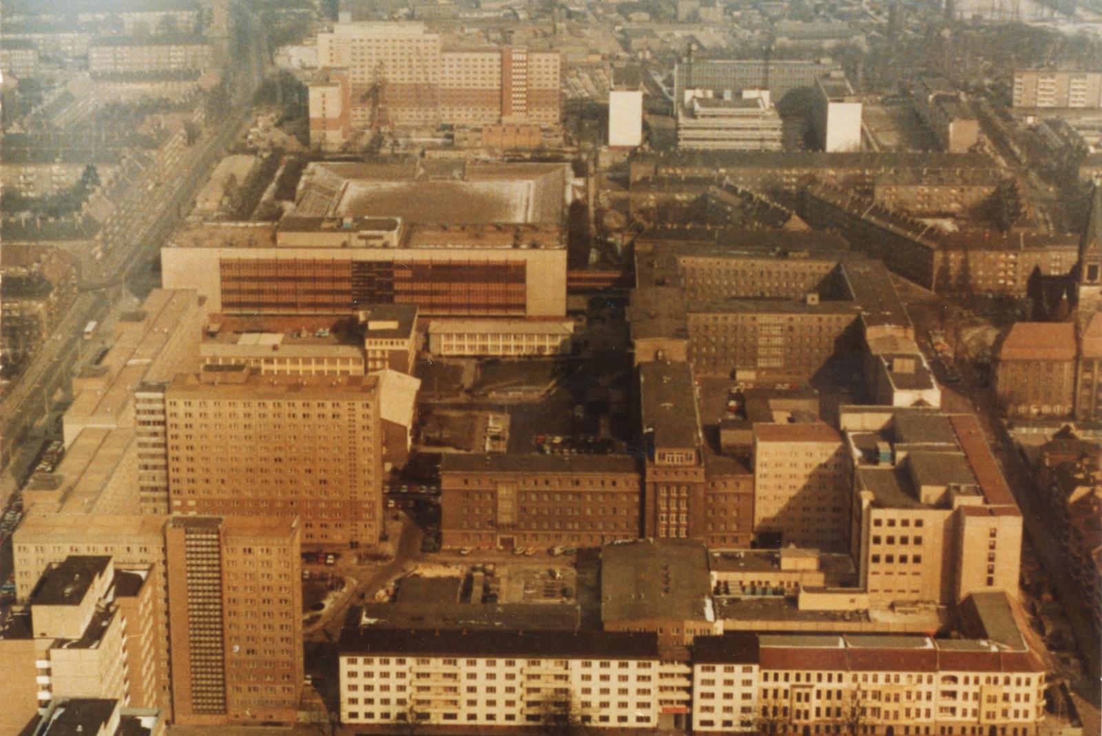 Центральный комплекс зданий Штази, Берлин. <br>