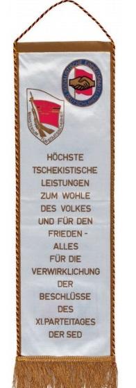 Вымпел Штази, 1986 г.<br>