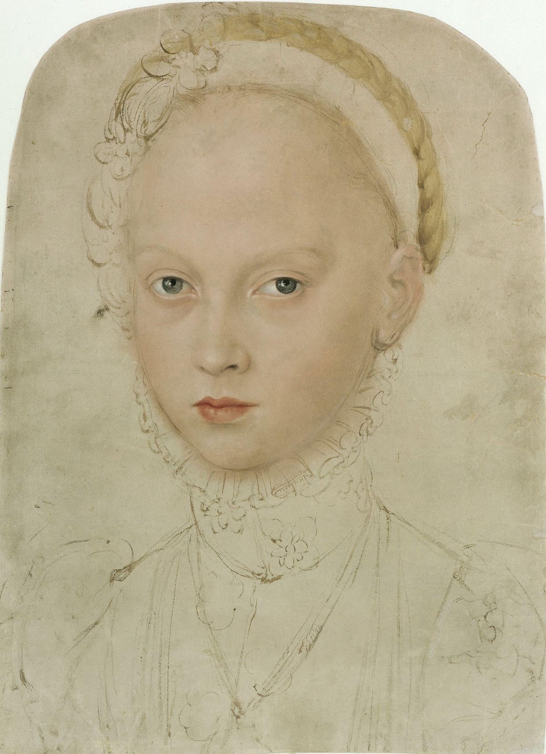 29 Лукас Кранах Младшии Портрет принцессы Элизабет Саксонскои.jpg