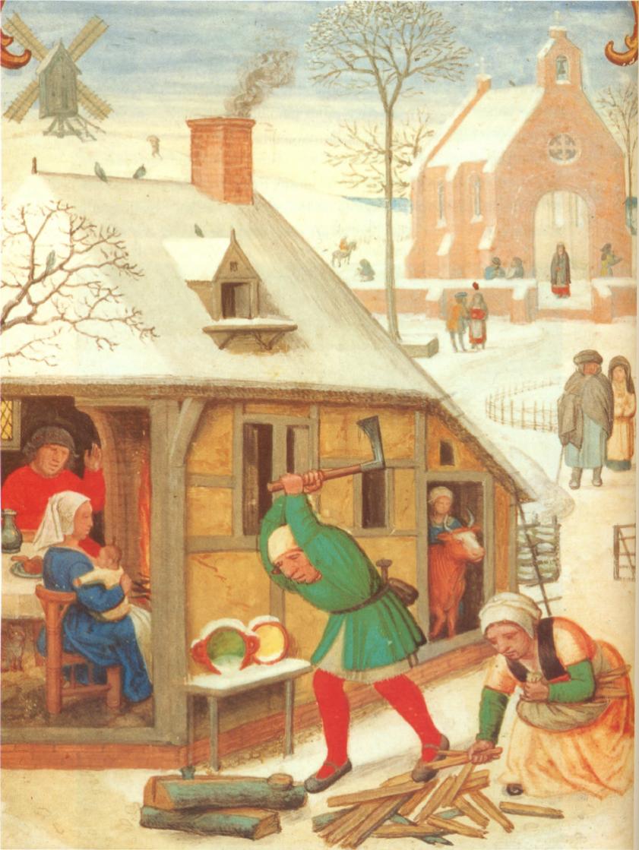 Картинки крестьян средневековья