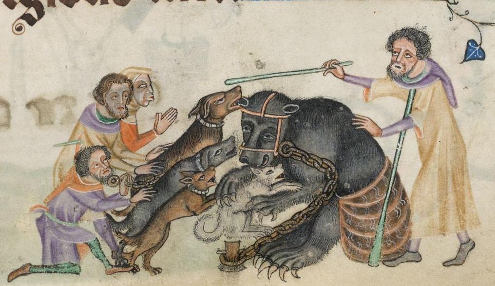 Медведь и крестьяне.