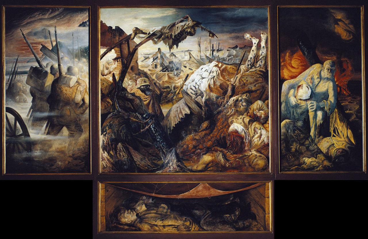 Триптих «Война», Отто Дикс.