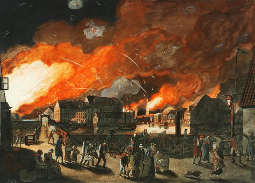 фото 2 Британская бомбардировка Копенгагена 7 сентября 1807.jpg