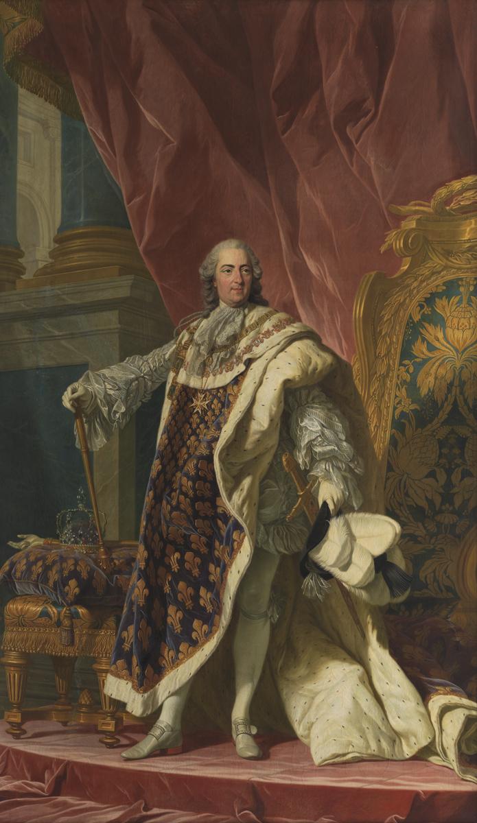 Людовик XV. <br>