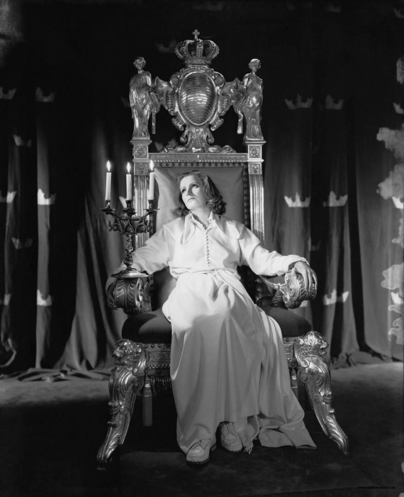 Грета Гарбо в фильме «Королева Кристина», 1933г.
