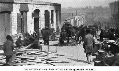 Последствия резни в азербаиджанском (татарском по тогдашнеи терминологии) квартале Баку. Март 1918.png