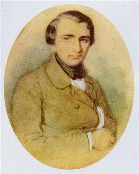 19-летний Тургенев.