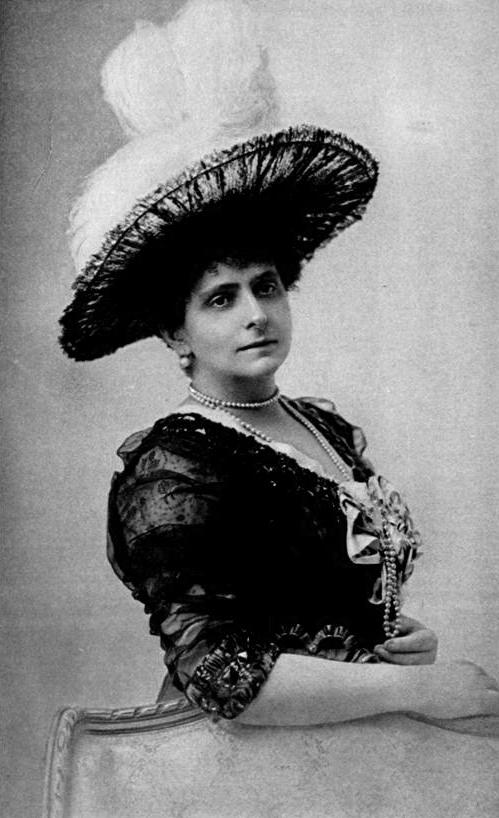 Екатерина Радзивилл. Фотография, 1880-е.