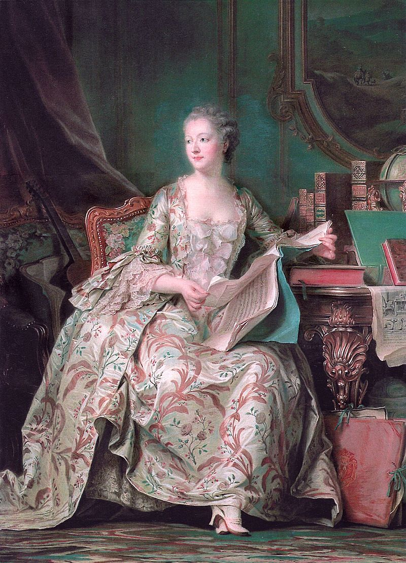 Портрет мадам де Помпадур.  Источник: Wikimedia Commons