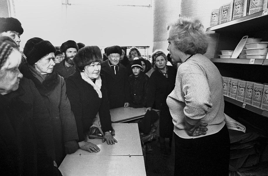 Дефицит в СССР и подпольное предпринимательство